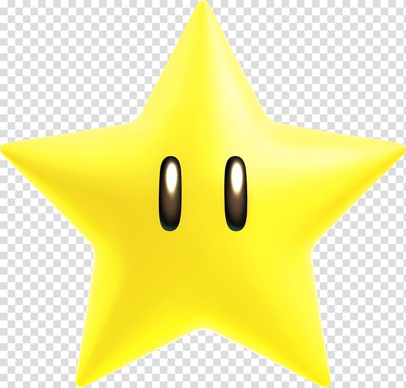 Yellow star character illustration, Super Mario Bros. Star.
