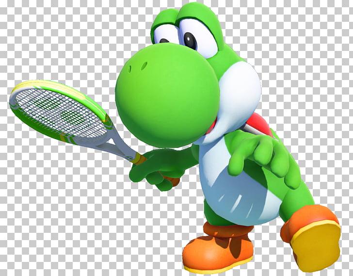 Mario Tennis Aces Mario Tennis: Ultra Smash Mario & Yoshi.