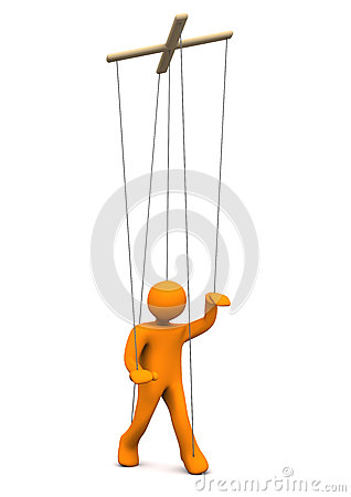 Marionette Royalty Free Stock Images.