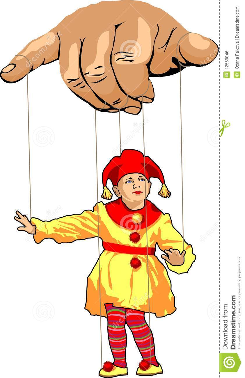 Clown Royalty Free Stock Image.