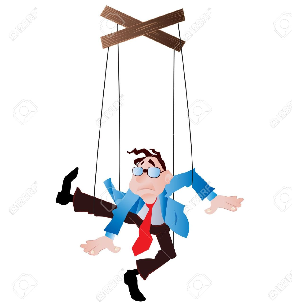 Clip Art Puppet On A String.