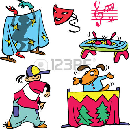 864 Puppet Theatre Stock Vector Illustration And Royalty Free.