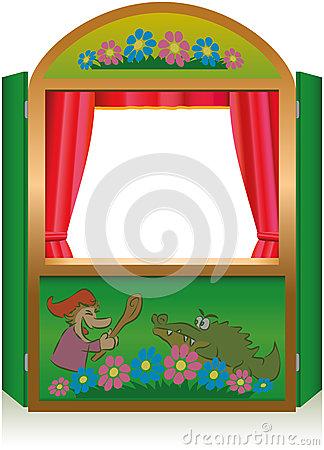 Clip Art Puppet Theater Clipart.