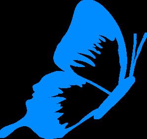 Mariposa Turquesa Clip Art at Clker.com.