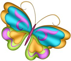 Mariposa butterfly clipart.