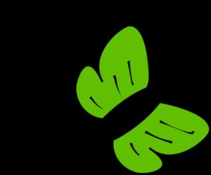 Mariposa Verde Clip Art at Clker.com.