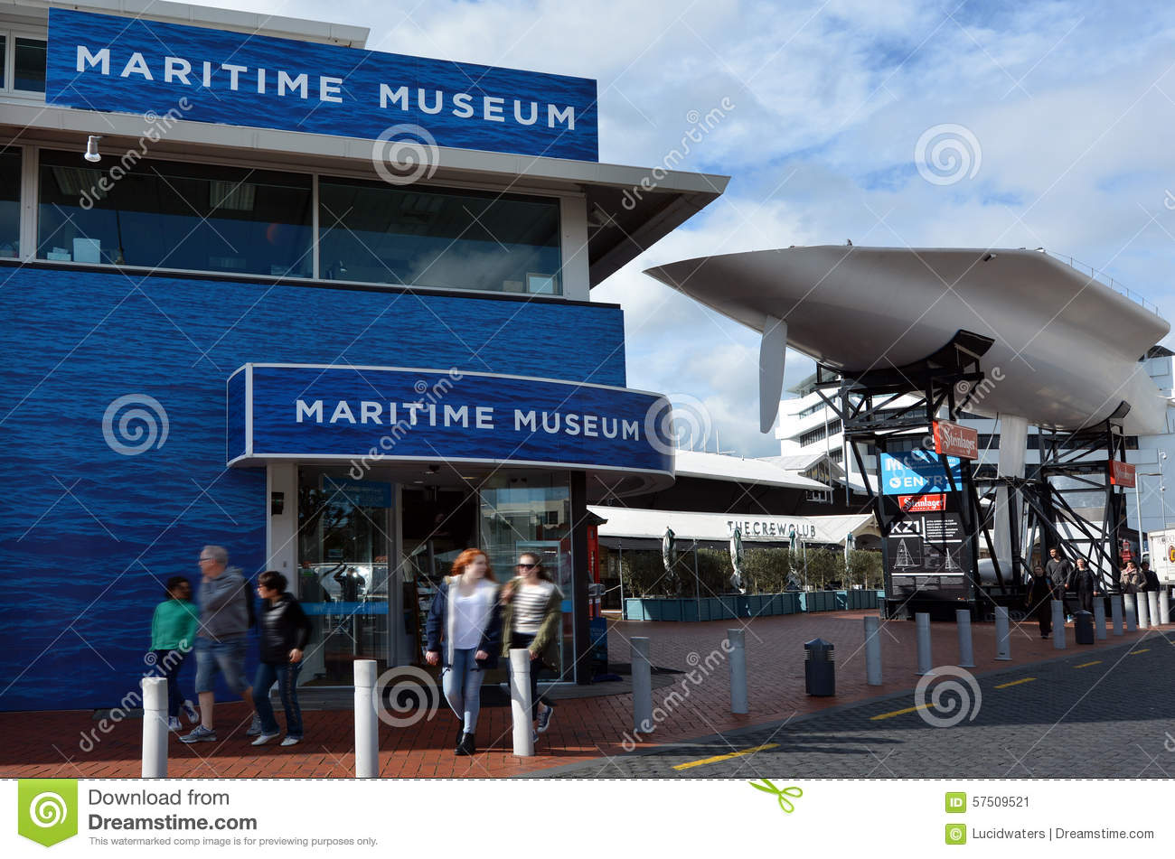 New Zealand Maritime Museum In Auckland Editorial Photo.