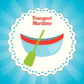 Maritime Transport Clip Art.