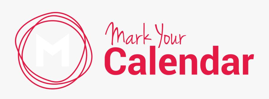 Mark Your Calendar Png.