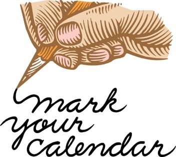 Mark Your Calendar Clipart Png.