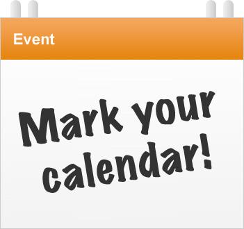 Mark Your Calendar Clipart February.