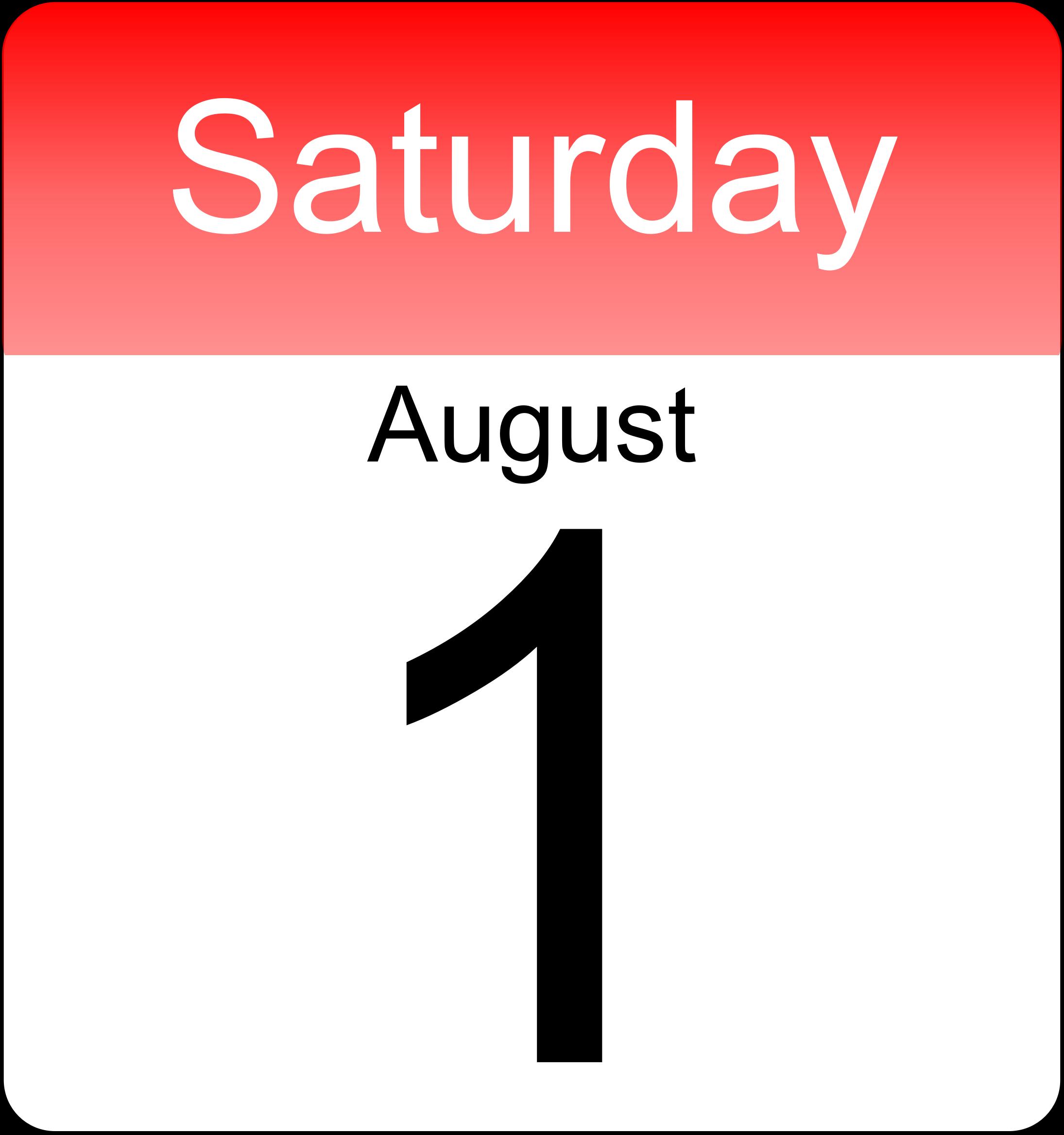 Calendar clipart days marked off.