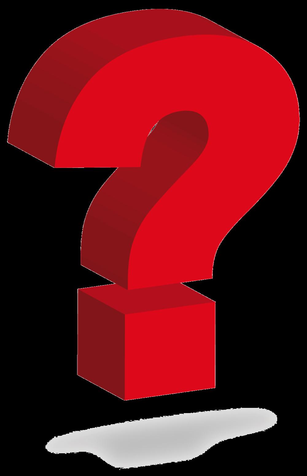 Question Mark Clipart.