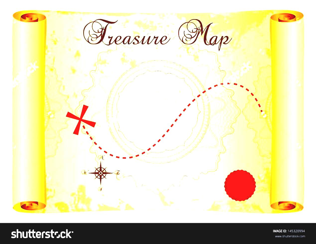 A Clipart Parchment Red Paper Treasure On Old Scroll Mark Save.
