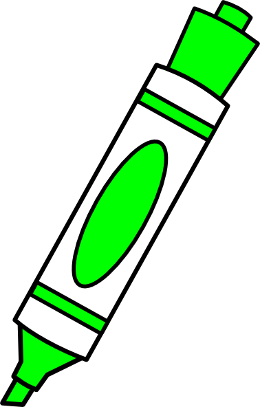 Showing post & media for Cartoon marker clip art.