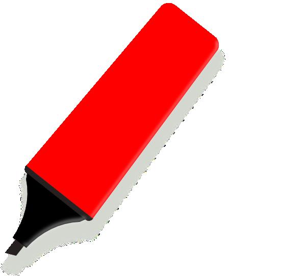 Red Marker Clip Art at Clker.com.