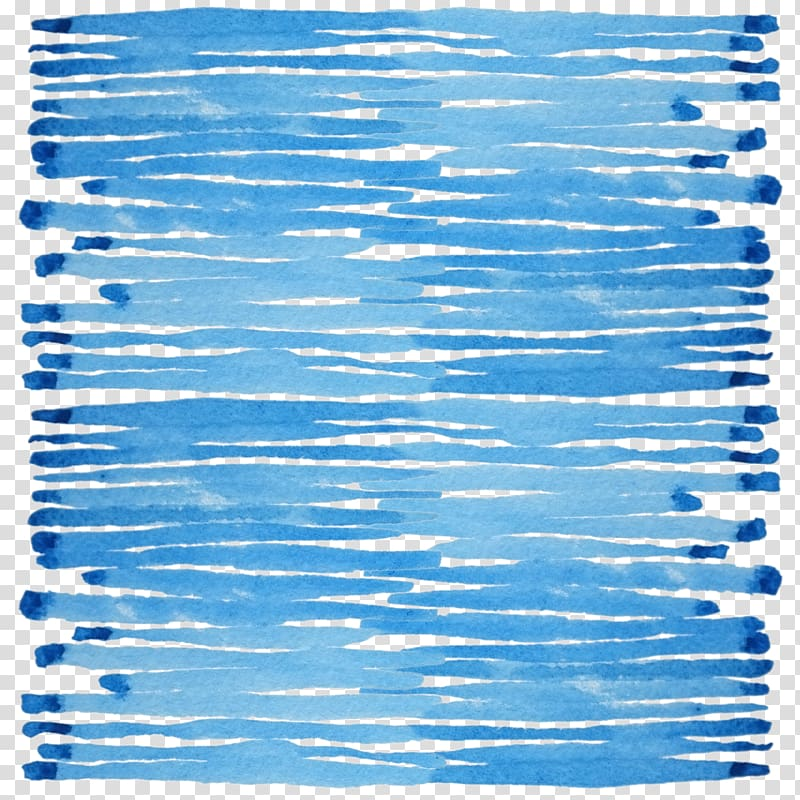 Blue brush stroke , Watercolor painting Blue Drawing, Blue.
