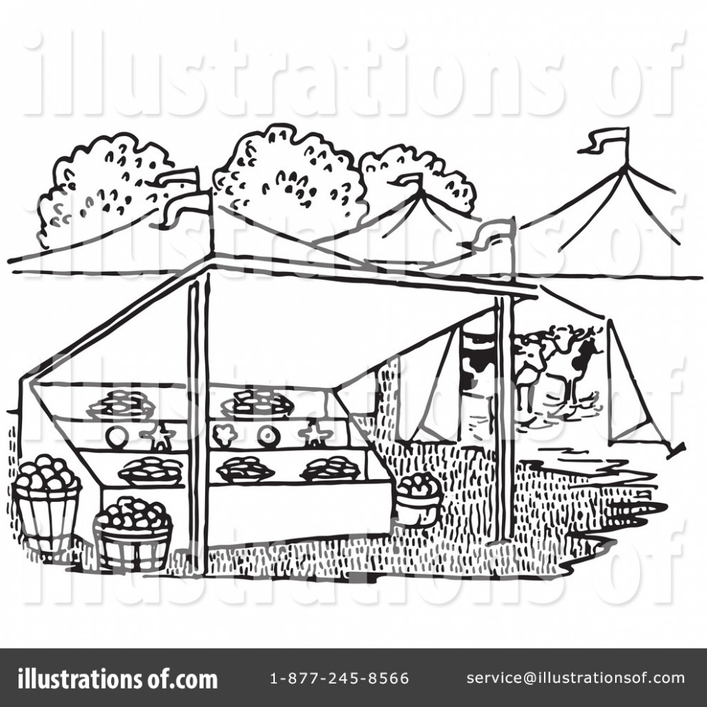Market black and white clipart 8 » Clipart Station.