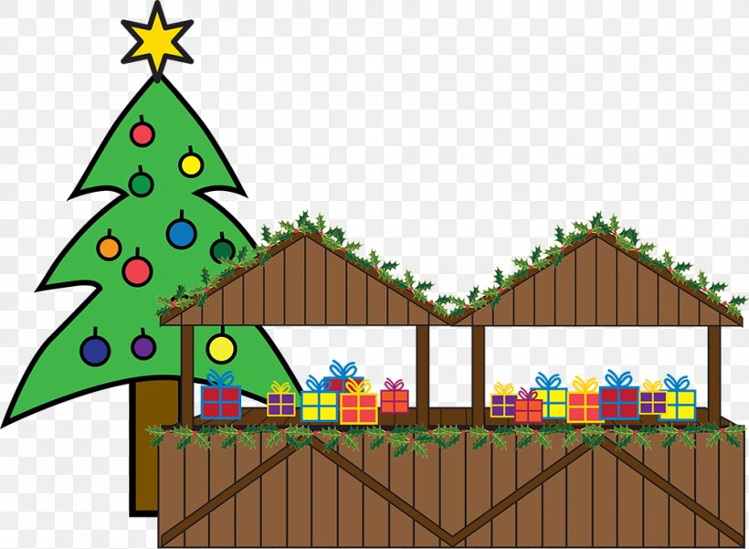 Christmas Tree Christmas Market Christmas Ornament Clip Art.