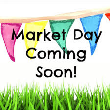 Market day clipart.