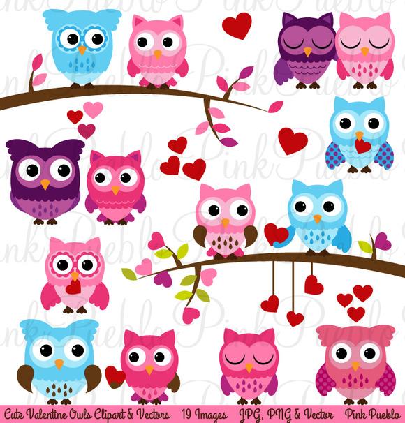 Creative Owl Clipart.