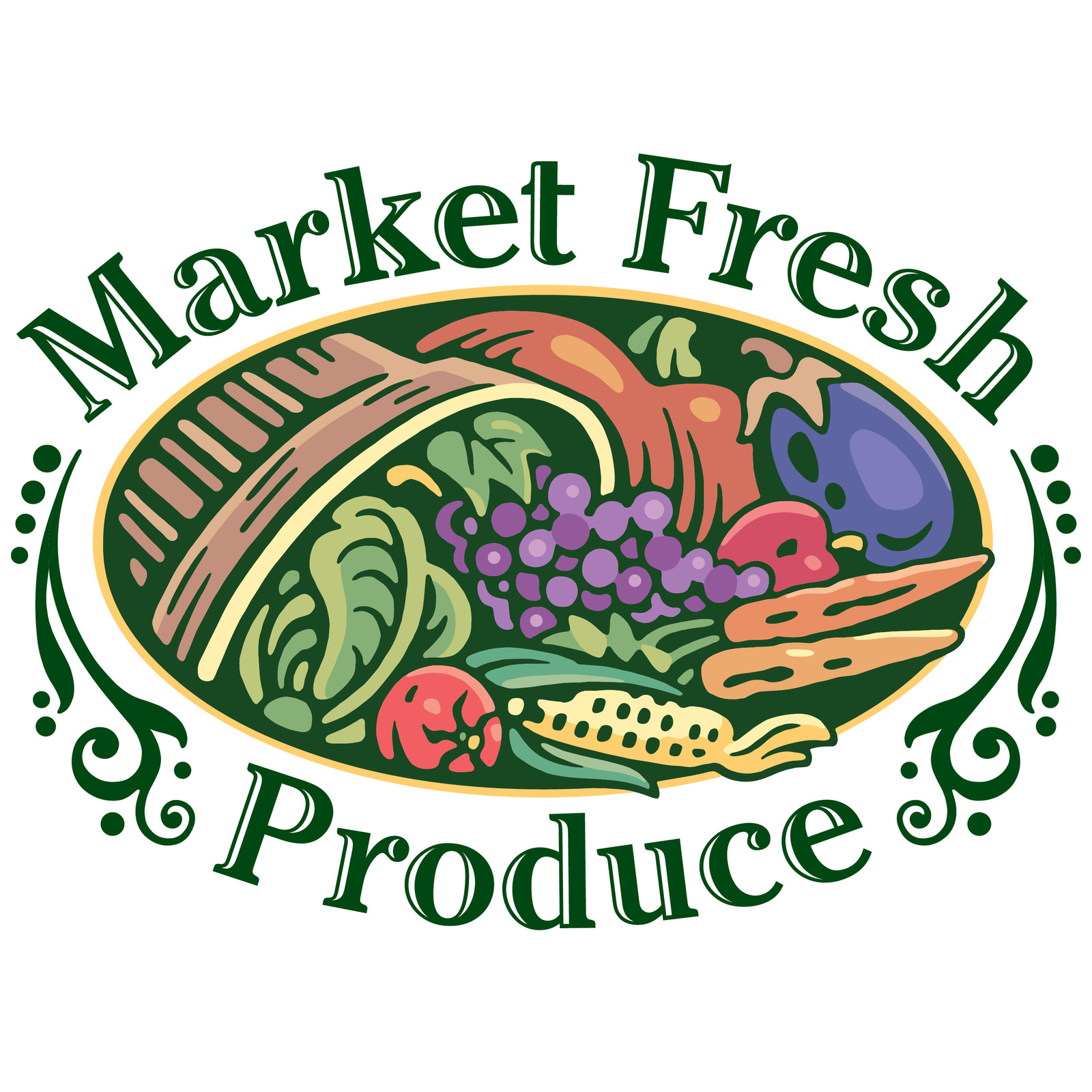 Fresh Produce Clipart.