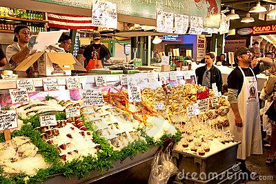 Market Place In Pottuvil, Sri Lanka Editorial Photography.