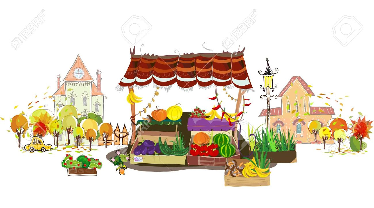 Market Place Clipart Clipground