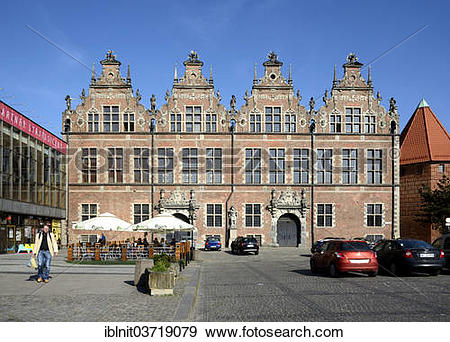 """Stock Photograph of """"Facade of the Great Armory in Coal Market."""