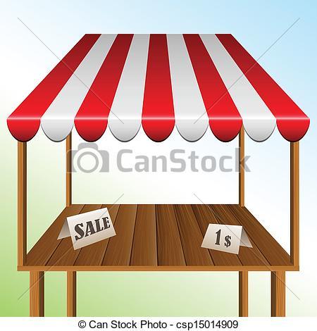 Clipart market stall.