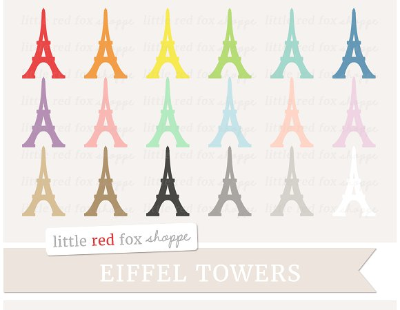 Eiffel tower clipart Photos, Graphics, Fonts, Themes, Templates.