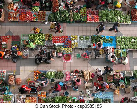 Stock Images of Market.