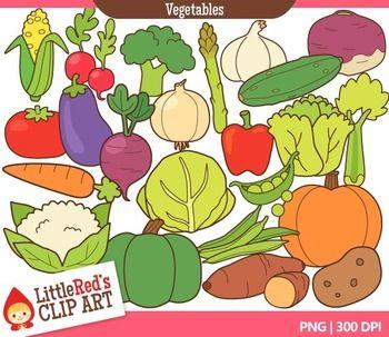 Vegetable Food Clip Art.
