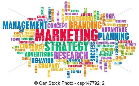 Marketing clip art.