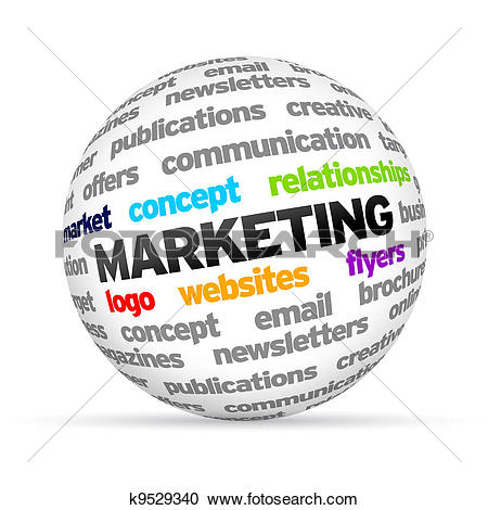 Stock Illustrations of Marketing k9529340.