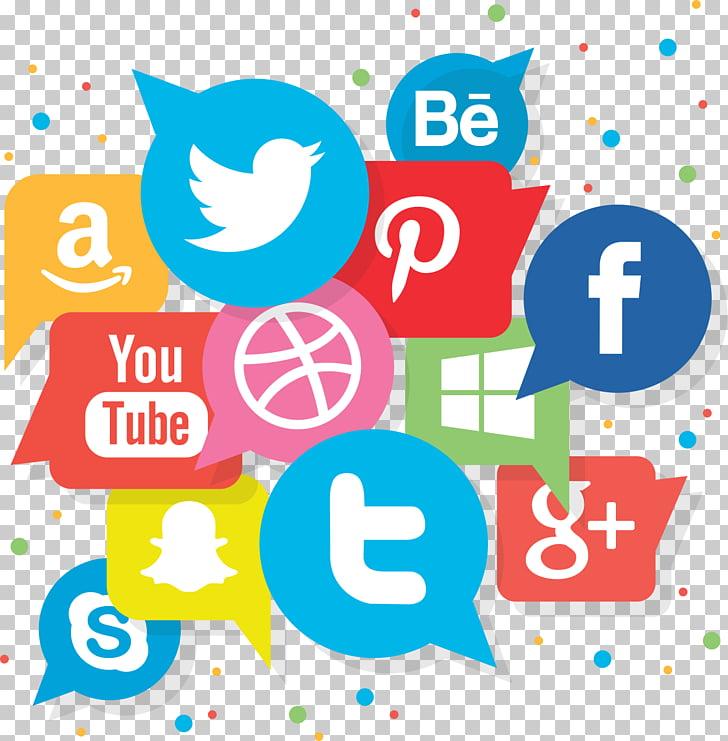 Social media marketing Logo Advertising, social media PNG.
