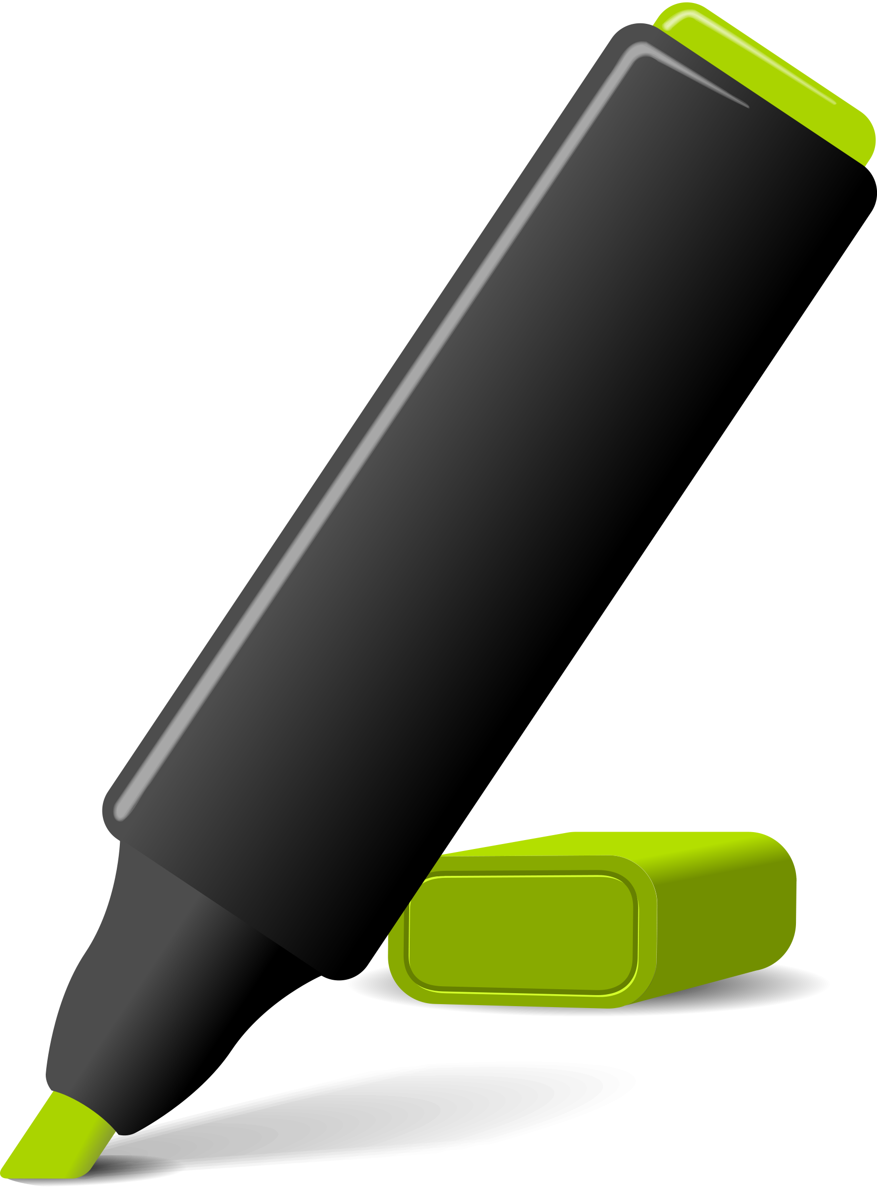 Markers Clipart.