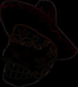 Mask Black Outline Clip Art at Clker.com.