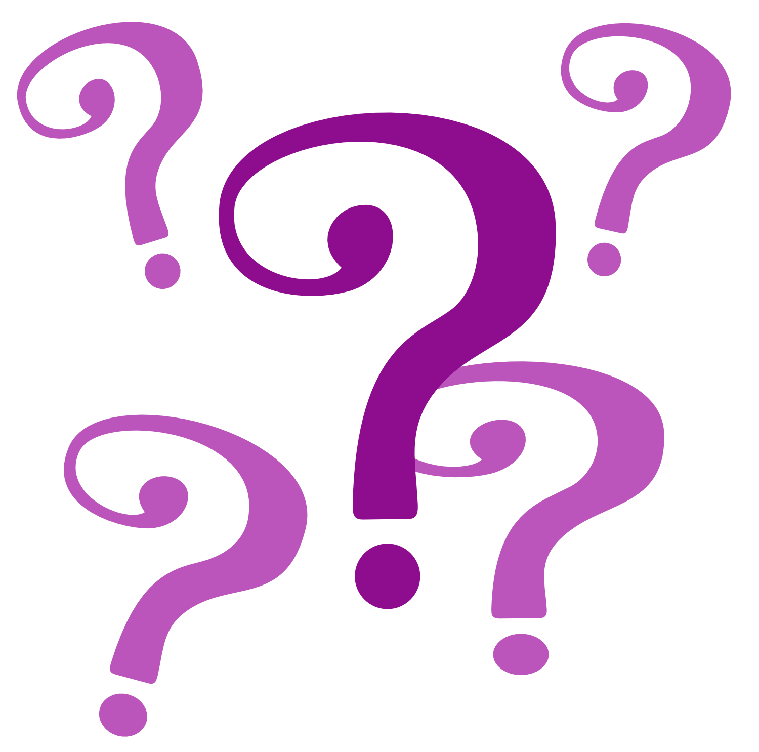 Animated question mark clipart 3.