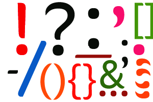 Punctuation Marks Clipart.