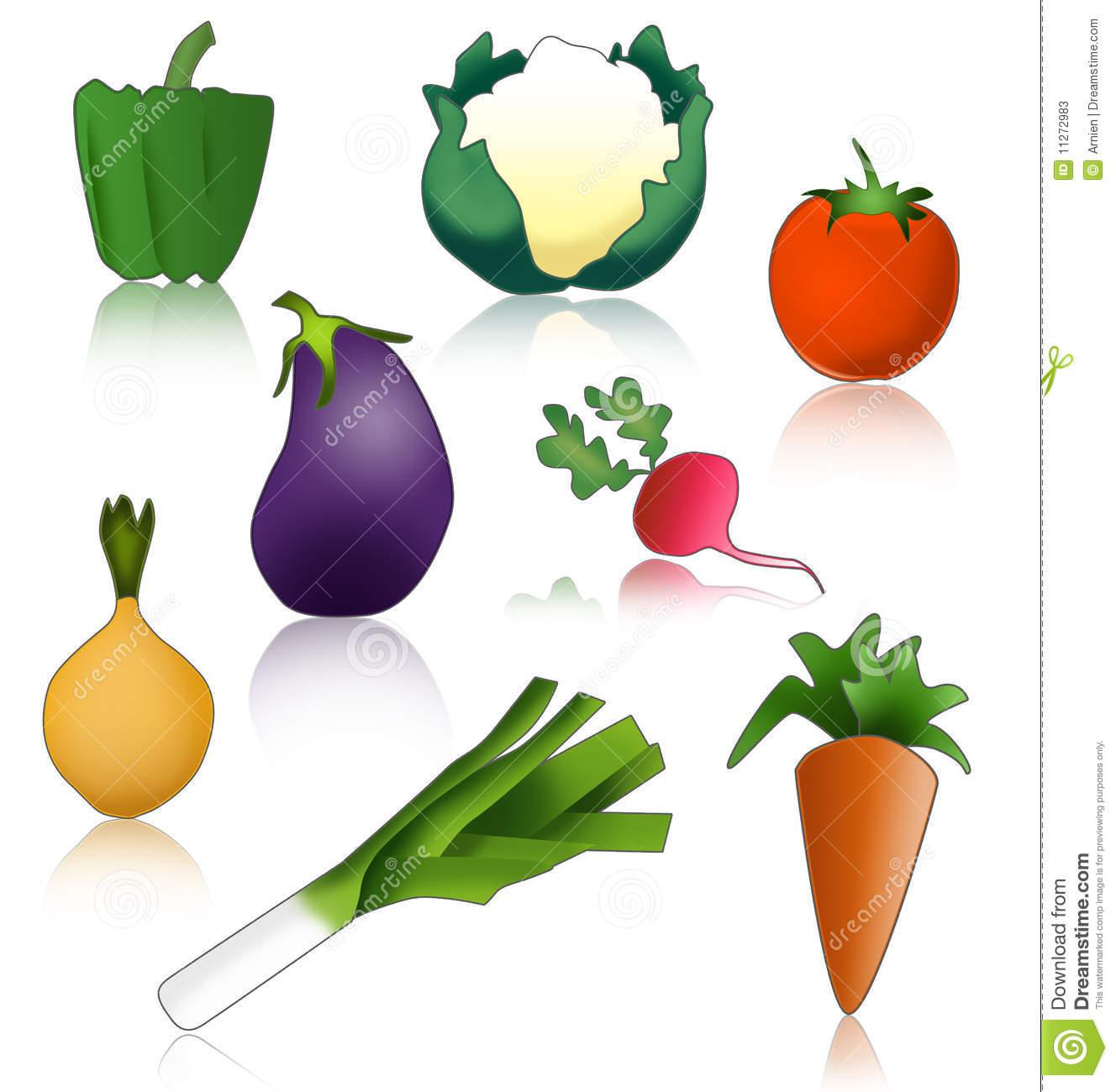 Gemüse Gesund Und Lustig Stockfotos.