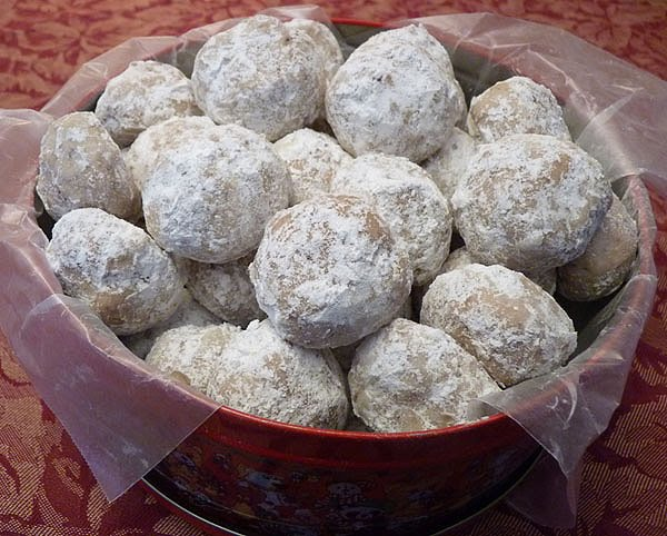 Butter Nut Balls.