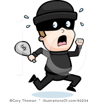 Clip Art Bank Robbery Clipart.