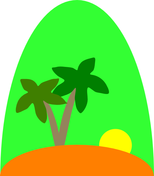 Island Clip Art at Clker.com.