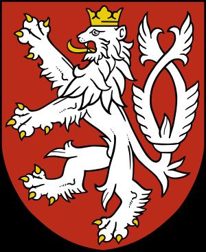 Böhmischer Löwe (Wappentier).