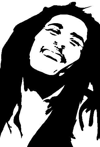 Bob Marley Clip Art , Bob Marley Free Clipart.