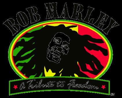 Bob Marley Logo.