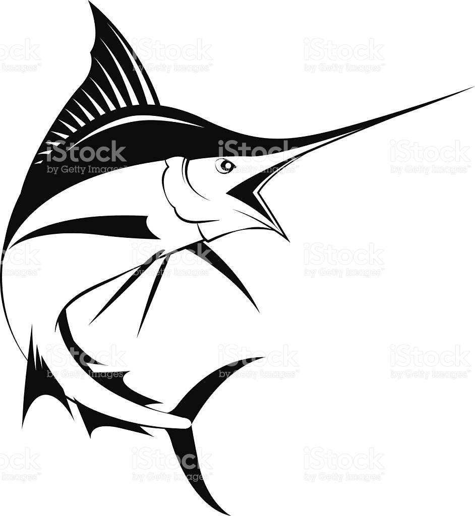 Marlin Clip Art, Vector Images & Illustrations.