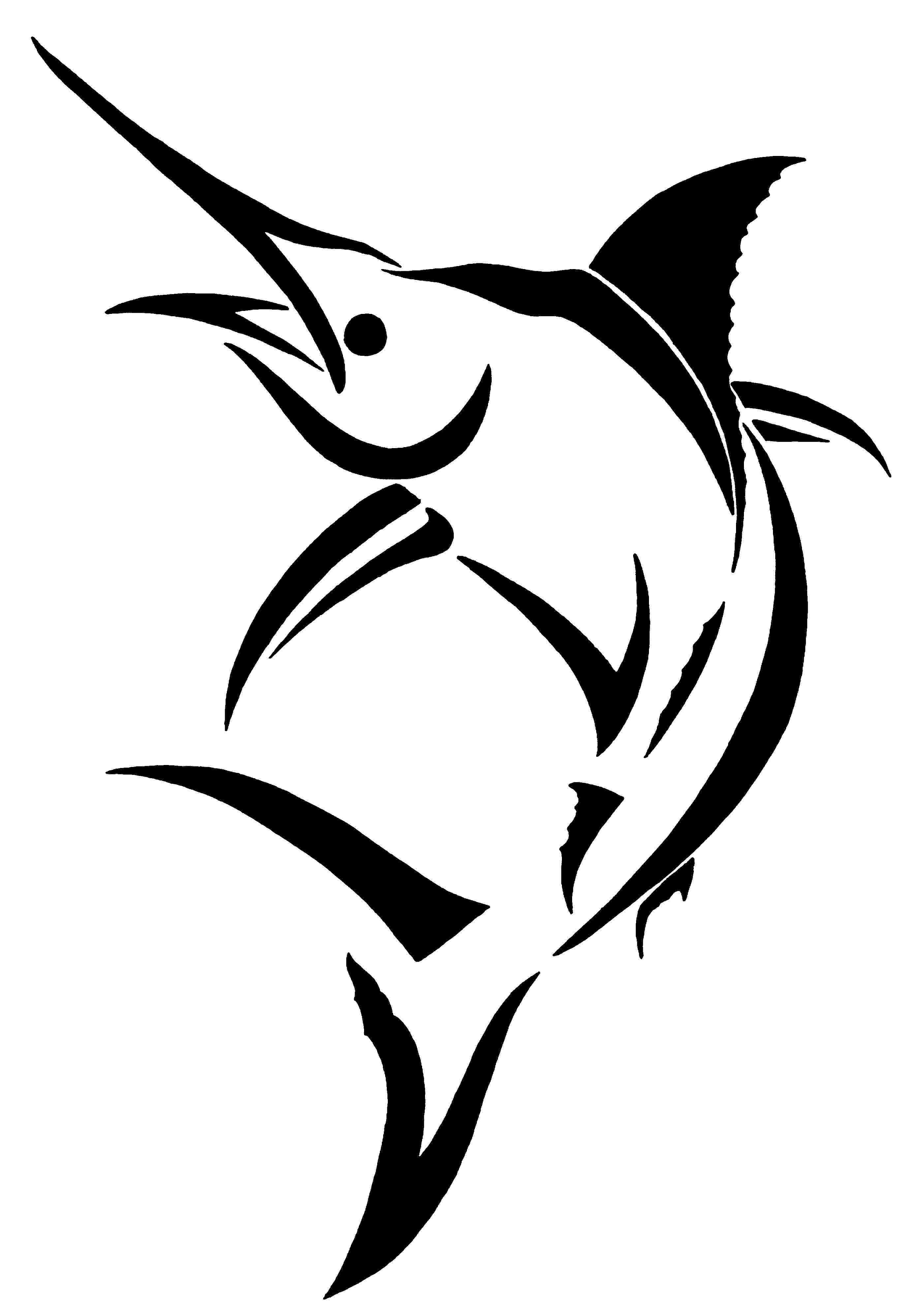 Marlin clipart download.