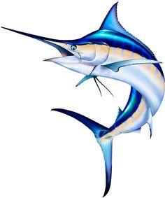 Marlin clip art.